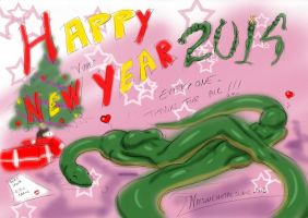 Happy New Year 2014 by Natsumemetalsonic