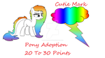 Pony Adoption by MyLittleEmoPony101
