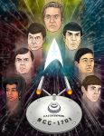 To Boldly Go - Star Trek 50th Anniversary by SumtimesIplaytheFool