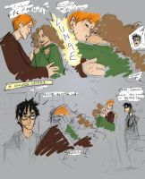 DH Spoiler: Ron and Hermy by kestinstewart