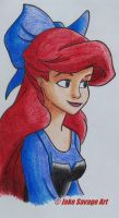 Ariel by Fires-storm