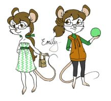 Emily Mouse by shani-hyena