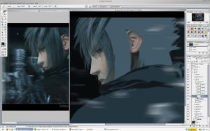 Noctis WIP by Tacoly