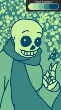 a request involving a sans oc by tardedbeard