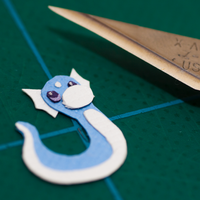 Day 3: Dratini by PlaidCushion
