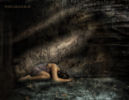 Drowning in sorrow by adce1