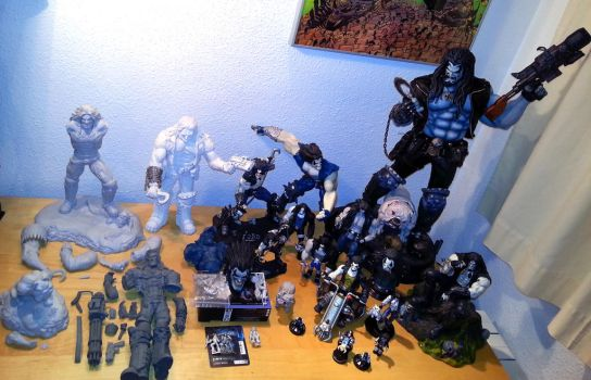 LOBO FIGURES COLLECTION by loboscuro