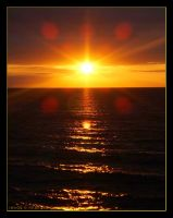 Cromer Sunset by beckic