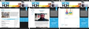 WOWHUH Wedsite design by XuXXX
