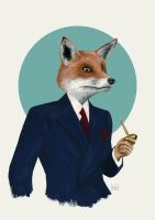 Mr Fox by famouswhendead