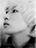 Eunhyuk phone drawing by SMoran
