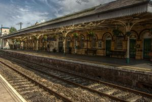 Lisburn Train Station by Isyala