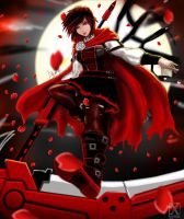 Ruby Rose (after timeskip) by X-kulon