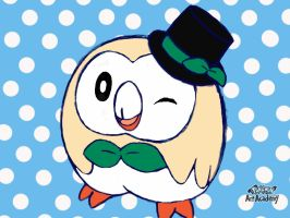 Top hat owl by Loveponies89