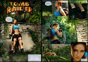 Tomb Raider Comic 1 by LauraCraftCosplay