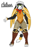 Leila Front ref. w/clothes by Inkblot-Rabbit