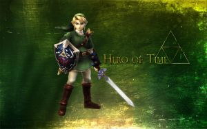 Hero of Time - Link Wallpaper by kurama805