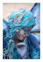 Blue Fairy by Barefeet-in-the-rain