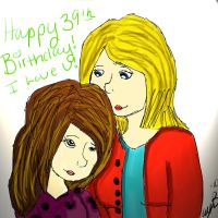 My mom's picture for her Bday by Twilightzonegirl13