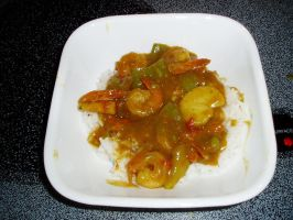 Shrimp Curry Rice by AmandaTaylor
