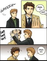 Cas and Hair by Limebro