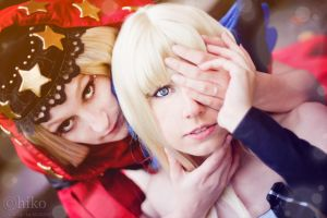 Odin Sphere - Gwendolyn and Velvet 1 by Rubyrelle
