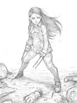 X-23 Logan by milk00001