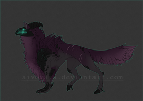 Auction #46 Monster [Closed] by Aivomata