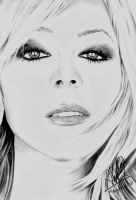 Mariah Carey Allure Drawing by riefra