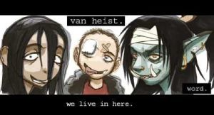 We all live in here by VanHeist