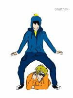 Craig and Kenny - Gangnam Style (colored) by Sintoxicated