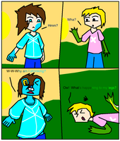 Froakie and Snivy TF Comic - Page 1 by SmartLuxio