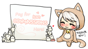 Pay here - Icon Points Commissions by koyame