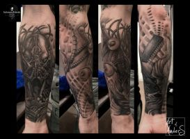 Bionic by Anderstattoo