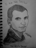 The Ninth Doctor Sketch by JediJulie