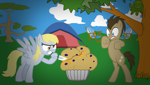 Kill Muffins by doktorwhooves
