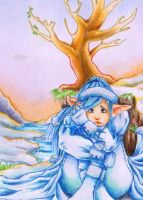 ACEO Spring vs Winter by uniquorned