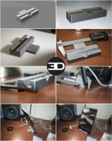 IPAD MINI STAND from design to print by 3DEricDesign