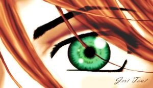 anime eye by DianaDrawingLover