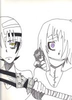 Crona and Kid by taytay128