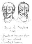 David and Naylana by Acesential