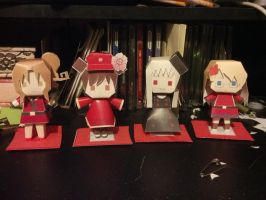 Hetalia Papercrafts by Dead-Master4