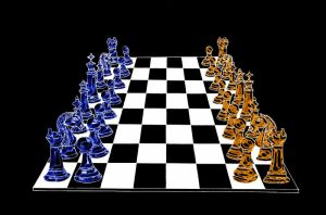 Chess board by Ihtaver