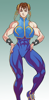Chun-muscle2s by lucio7lopez