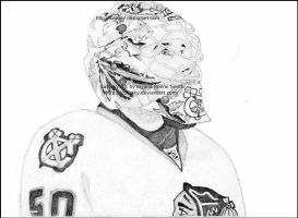 Corey Crawford by Cutesky