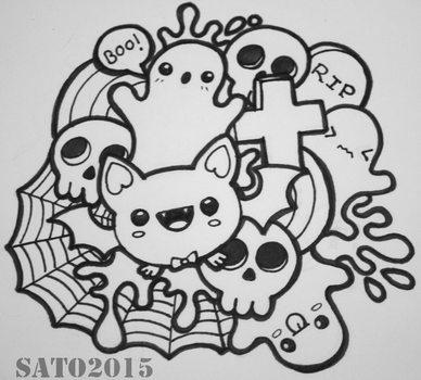 First Doodle by Amanda18Sato