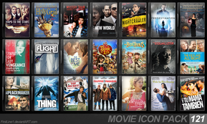 Movie Icon Pack 121 by FirstLine1