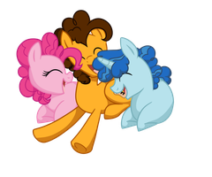 polyamorous party ponies by sugarfate