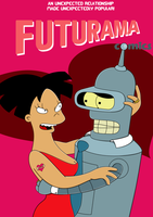 Futurama Comic - Bender and Amy's Big Fling by Spider-Matt