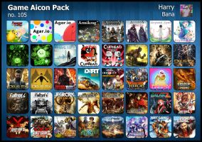 Game Aicon Pack 105 by HarryBana